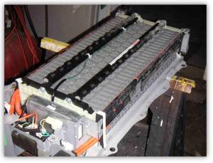 Rys. 1.11 Wygląd baterii HV w THS-II [4]